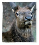 Caught With A Mouthful Fleece Blanket