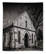 Cedar Hill Chapel Fleece Blanket