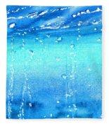 Champagne Sea 2 Fleece Blanket