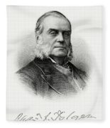 Charles J. Folger Fleece Blanket