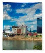 Charleston, West Virginia Fleece Blanket