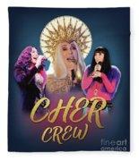 Cher Crew X3 Fleece Blanket