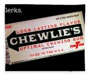Chewlie's Gum Clerks Fleece Blanket