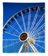 Chicago Centennial Ferris Wheel Fleece Blanket