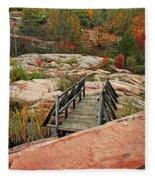 Chikanishing Trail Boardwalk II Fleece Blanket