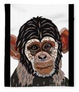 Chimp Fleece Blanket