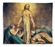 Christ Appearing To The Apostles After The Resurrection - Digital Remastered Edition Fleece Blanket