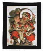 Christmas Eve - Digital Remastered Edition Fleece Blanket