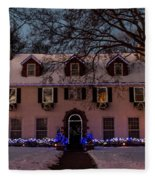 Christmas Lights Series #3 Fleece Blanket