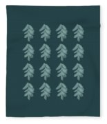 Christmas Tree Pattern Fleece Blanket