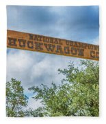 Chuckwagon Cookoff Fleece Blanket