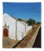 Church Of Misericordia In Medieval Castle Fleece Blanket