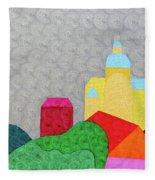 City 1 Fleece Blanket