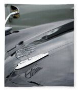 Classic Austin Car Bonnet Badge Fleece Blanket