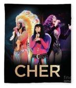 Classic Cher Trio Fleece Blanket