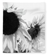 Classic Sunflowers Fleece Blanket