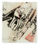 Clinical Tooth Care Fleece Blanket