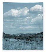 Cloud Dance Shadows Fleece Blanket