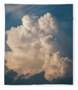Cloud On Sky Fleece Blanket