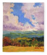 Cloudscape 1 Fleece Blanket