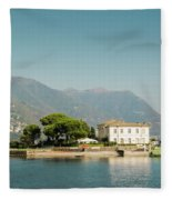 Coast Of Como Fleece Blanket