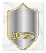 Coat Of Arms Fleece Blanket