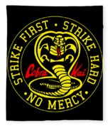 Cobra Kai Fleece Blanket