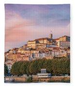 Coimbra's Skyline Fleece Blanket