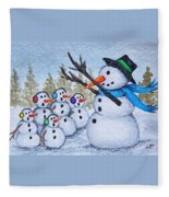 Cold Choir Fleece Blanket