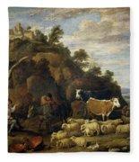 Coloquio Pastoril   Fleece Blanket