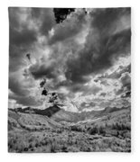 Colorado Sun Rays II Fleece Blanket
