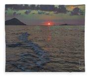 Colors Of The Sunrise Fleece Blanket