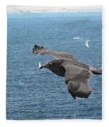 Columbia River Sailing Fleece Blanket