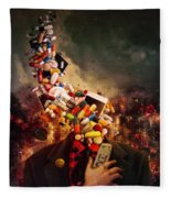 Comfortably Numb Fleece Blanket