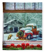 Coming Home Fleece Blanket