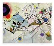 Composition 8 - Komposition 8 Fleece Blanket
