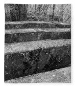 Concrete Forest Fleece Blanket