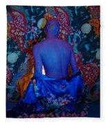 Contemporary Deva Fleece Blanket