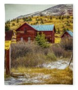 Continental Divide Fleece Blanket