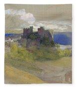 Conway Castle - Digital Remastered Edition Fleece Blanket