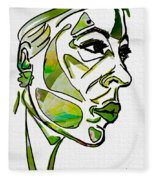 Cool Green Fleece Blanket