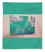 Cool Tone Vibes Fleece Blanket