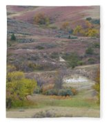 Copper Hills Autumn Fleece Blanket