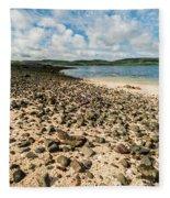 Coral Beach, Skye Fleece Blanket