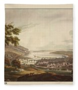 Cork Ireland 1799 Fleece Blanket