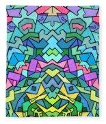 Cosmic Lock Fleece Blanket
