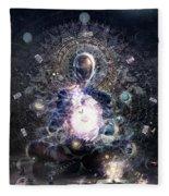 Cosmic Ritual Fleece Blanket