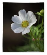Cosmos In The Cottage Garden Fleece Blanket