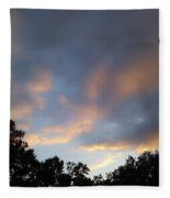 Cotton Sky Fleece Blanket