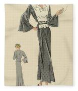 Creations De Haute Couture Fleece Blanket